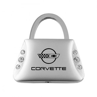 Autogold® - Corvette C4 Jeweled Purse Key Chain