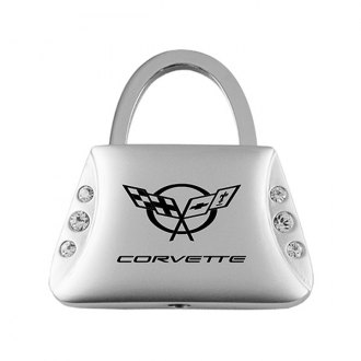 Autogold® - Corvette C5 Jeweled Purse Key Chain