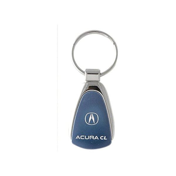 Autogold KCBACL Acura CL Blue Teardrop Key Chain - Acura keychain