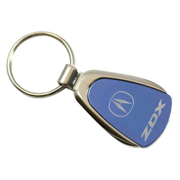 Autogold® - ZDX Blue Teardrop Key Chain