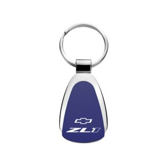 Autogold® - ZL1 Blue Teardrop Key Chain