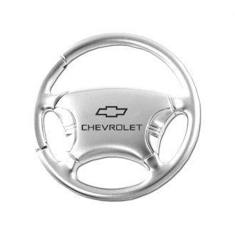 Autogold® - Chevrolet Chrome Steering Wheel Key Chain