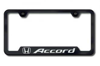 Autogold® - Accord Logo on Black Frame with Cut-Outs