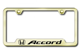 Autogold® - Accord Logo on Gold Frame with Cut-Outs