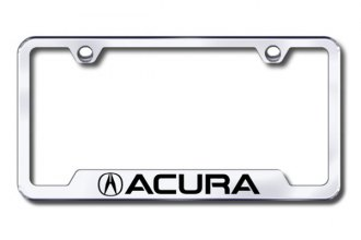 Autogold® - Acura Logo on Chrome Laser Etched Frame