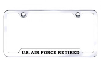 Autogold® - US Air Force Logo on Stainless Steel Frame