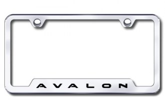Autogold® - Avalon Logo on Chrome Frame with Cut-Outs