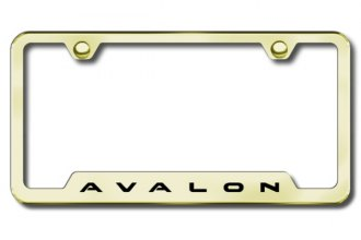 Autogold® - Avalon Logo on Gold Frame with Cut-Outs