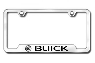Autogold® - Buick Logo on Chrome Frame with Cut-Outs