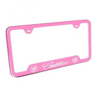 Autogold® - Wide Body Pink License Frame