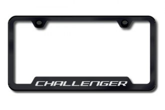 Autogold® - Challenger Logo on Black Cut-Out Frame