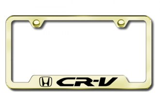 Autogold® - CR-V Logo on Gold Frame with Cut-Outs