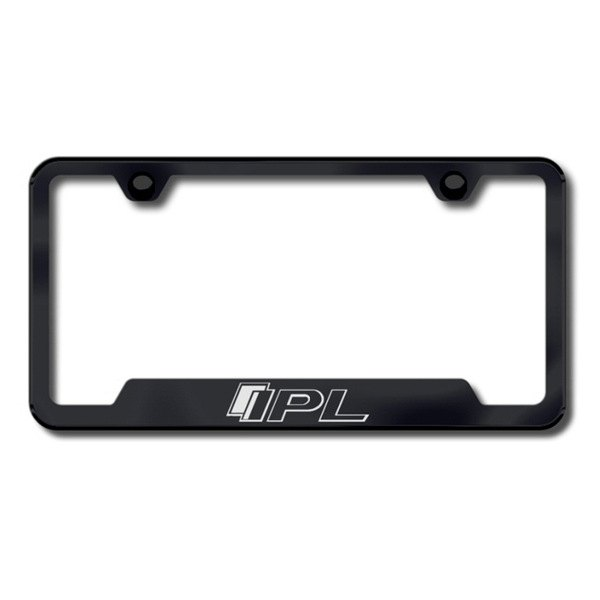 Autogold® - IPL Logo on Black Frame with Cut-Outs