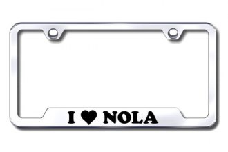 Autogold® - NOLA Logo on Stainless Steel Frame