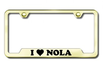 Autogold® - NOLA Logo on Gold Frame
