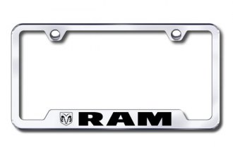 Autogold® - RAM Logo on Chrome Frame with Cut-Outs