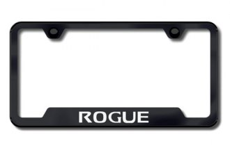 Autogold® - Rogue Logo on Black Frame with Cut-Outs