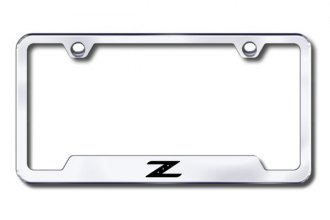 Autogold® - Z Logo on Chrome Frame with Cut-Outs