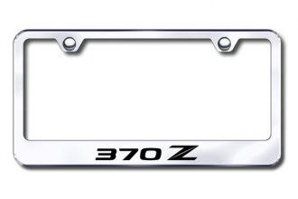 Autogold® - 370Z (Stylized Z) Logo on Chrome Frame