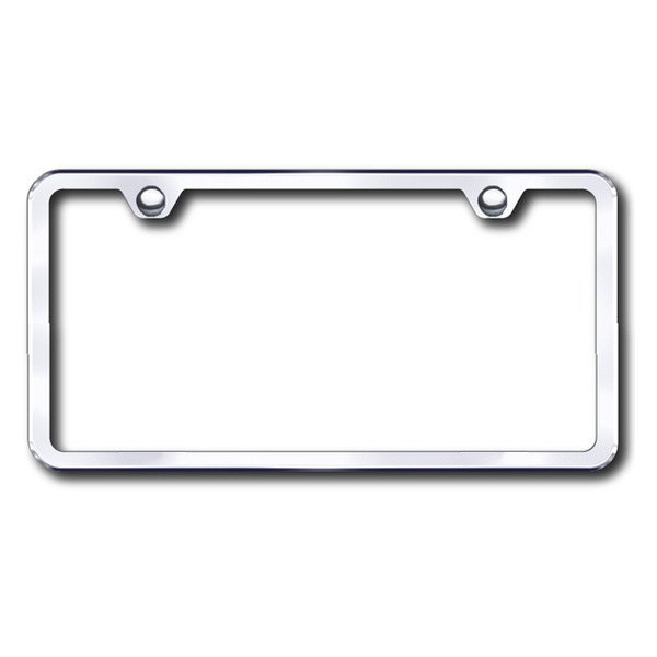 Autogold® - Plain 2-Hole Chrome Frame