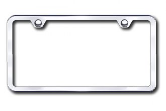 Autogold® - Plain 2-Hole Polished Frame