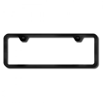 Autogold® - Plain Black License Frame