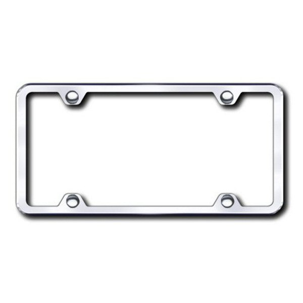 Autogold® - Plain 4-Hole Chrome Frame