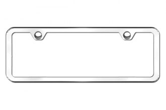 Autogold® - Plain 2 Hole Chrome Frame