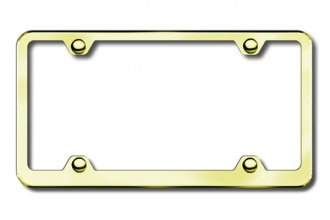 Autogold® - Plain 4 Hole Gold Frame
