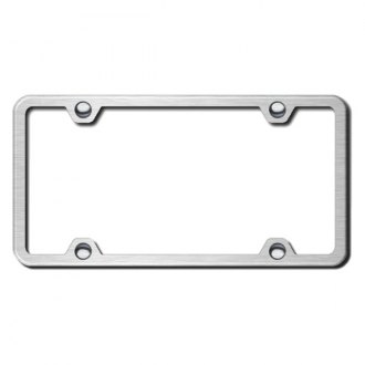 Autogold® - Brushed Stainless Steel Plain Frame