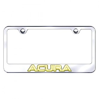 Autogold® - License Plate Frame with 3D Logo