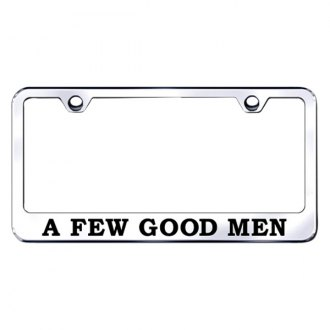 Autogold® - A Few Good Men Laser Etched Logo on Chrome Frame