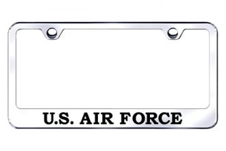 Autogold® - US Air Force Logo on Chrome Frame