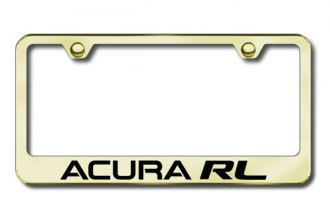Autogold® - Acura RL Logo on Gold Frame