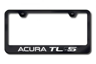 Autogold® - Acura TL Type S Logo on Black Frame