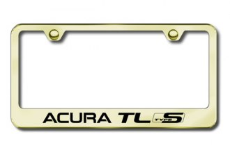 Autogold® - Acura TL Type S Logo on Gold Frame