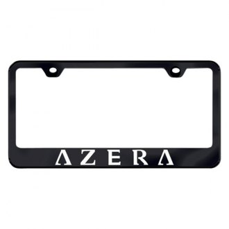 Autogold® - License Plate Frame with Laser Etched Azera Logo