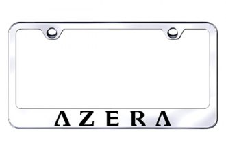Autogold® - Laser Etched Azera Logo on Chrome Frame