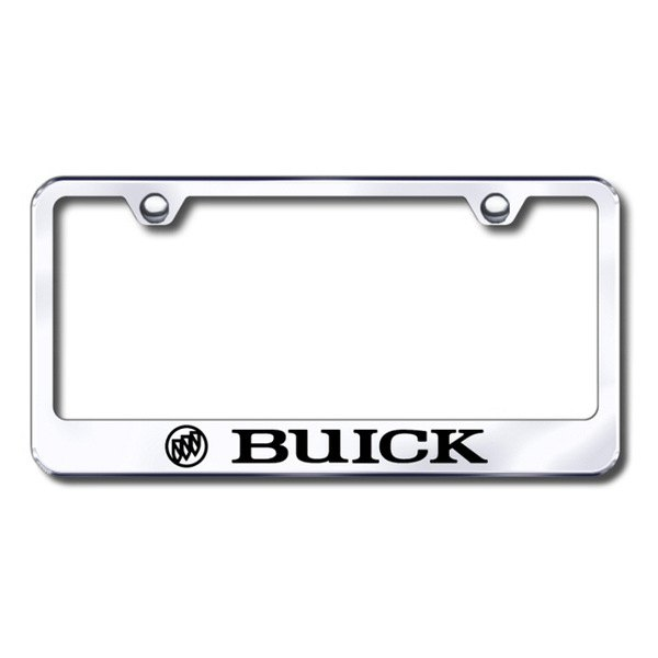 Autogold® - Laser Etched Buick Logo on Stainless Steel Frame