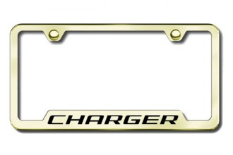 Autogold® - Charger Logo on Gold Frame