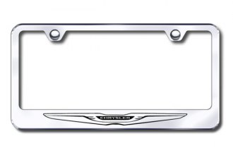 Autogold® - Chrysler Logo on Stainless Steel Frame