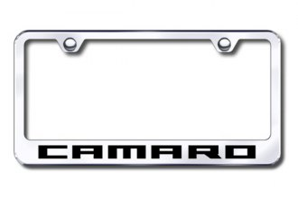 Autogold® - Camaro Logo on Chrome Frame