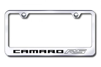 Autogold® - Camaro RS Logo on Chrome Frame