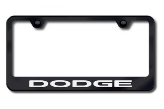 Autogold® - Dodge Logo on Black Frame