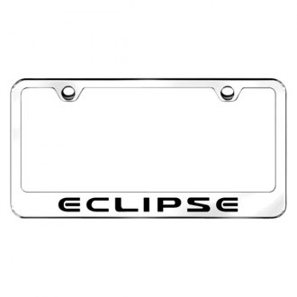 Autogold® - License Plate Frame with Laser Etched Eclipse Logo