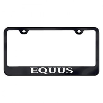 Autogold® - License Plate Frame with Laser Etched Equus Logo