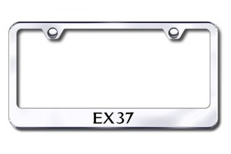 Autogold® - Laser Etched EX37 Logo on Chrome Frame