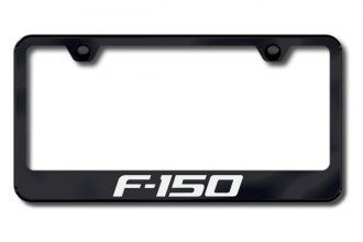 Autogold® - F-150 Logo on Black Frame
