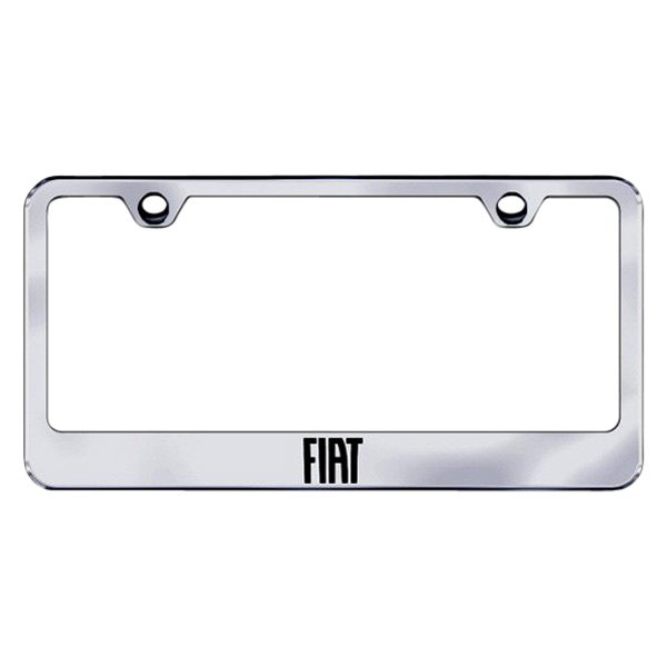 Autogold® - License Plate Frame with Laser Etched Fiat Logo
