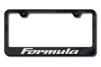 Autogold® - Formula Logo on Black Frame